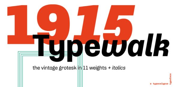Typewalk 1915 (75% discount, family 68€)   https://fontsdiscounts.com/typewalk-1915-75-discount-3399e?utm_content=buffer34f1c&utm_medium=social&utm_source=pinterest.com&utm_campaign=buffer