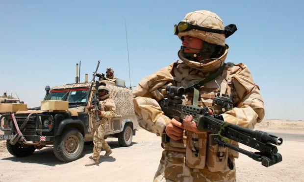 Soldado britânico morre no Iraque