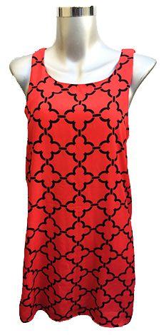 Vestido Estampado Talla mediana $150