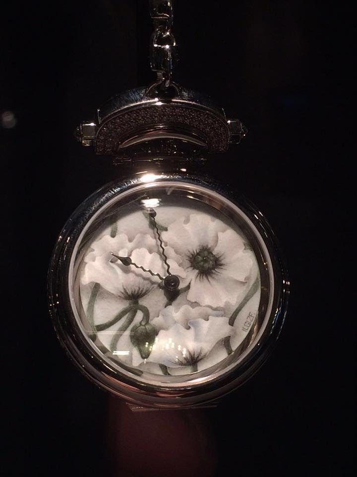 Ilgiz F for Bovet 1822. Amadeo Fleurier 39 mm White Poppies