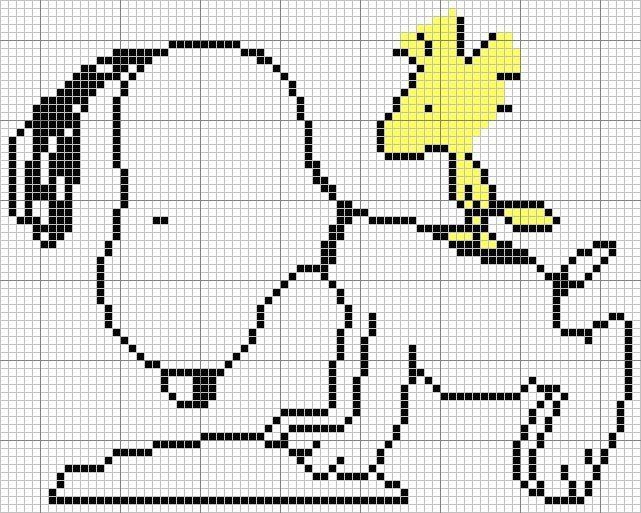 Snoopy Cross Stitch Patterns