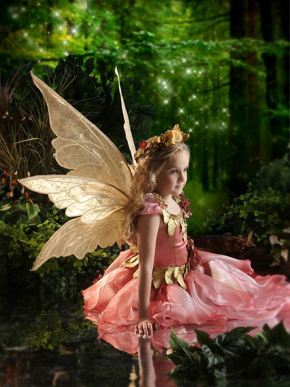 PATTERN and tutorial for fairy wings Thalia by enchantedcostumes