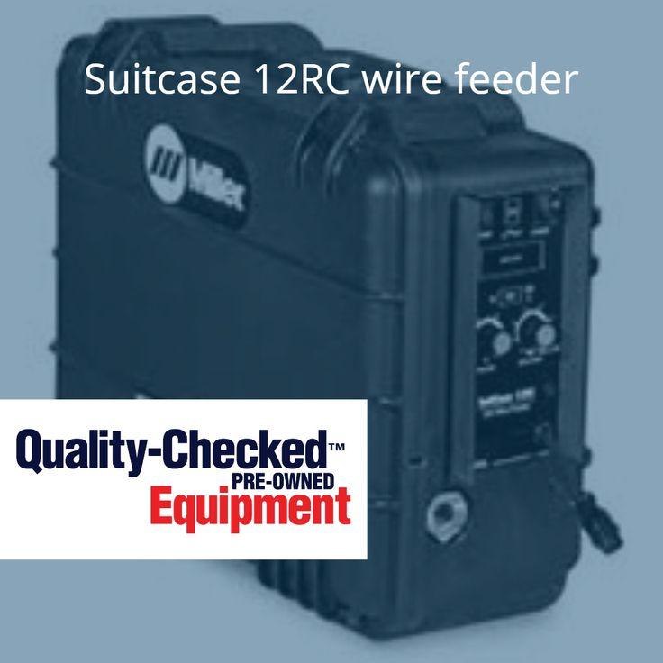 Miller Suitcase 12RC wire feeder  http://www.red-d-arc.com/used-equipment.aspx #Atlanta #Odessa #Tulsa #Phoenix #UsedEquipment