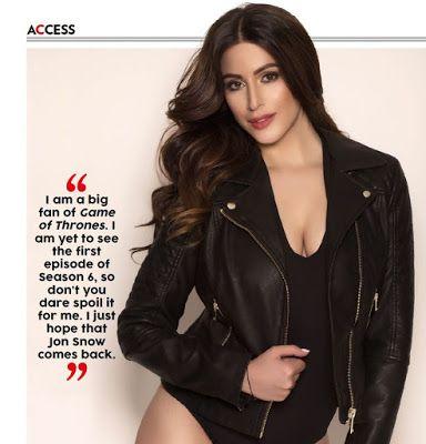 Bharatbytes: Karishma Kotak Bikini Photoshoot for FHM India May...