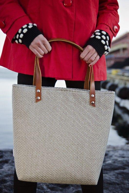 torby na ramię - damskie-Sawana Grey Weave / Szara Plecionka