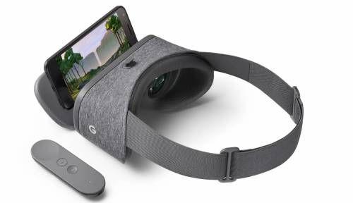 グーグルは10月4日(現地時間)、独自のVR規格「Daydream」に対応したヘッドマウントディスプレー「Daydream View」を発表した。スレートカラーが11月に発売予定、価格は79ドル(日本円でおよそ8130円)。日本での発売は未定。