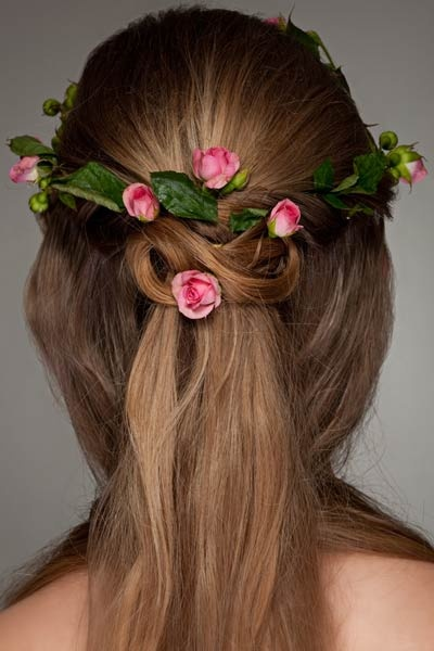 Rose bud Celtic knot.... I think I just found out how I want my hair