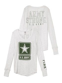 Army strong shirt from pink-I want this so badly!!