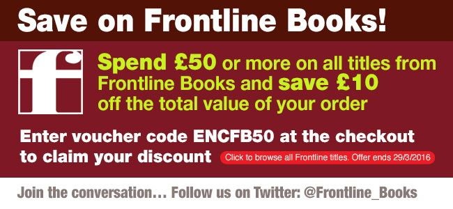 We just have gifts that carry on giving! To celebrate it being Friday and FINALLY the weekend, we're offering the chnace to save £10 when you spend £50 or more on our fantastic Frontline titles. Just enter the code ENCFB50 at the checkout!  http://www.pen-and-sword.co.uk/Frontline-Books/i/9