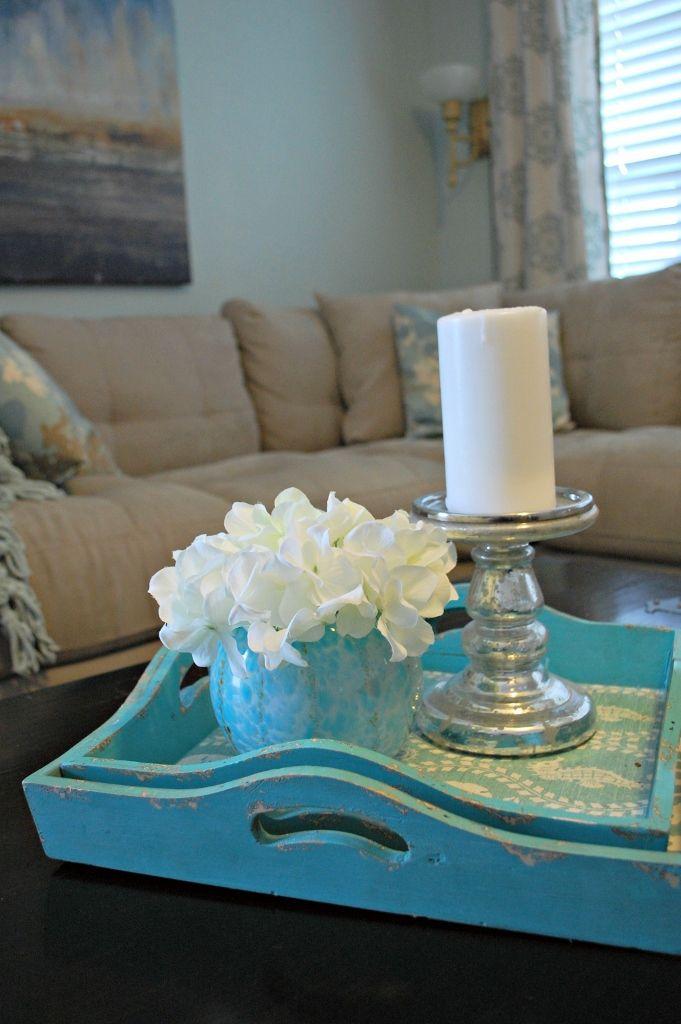 Mostly Coastal Budget Living Room   missfrugalfancypants.com