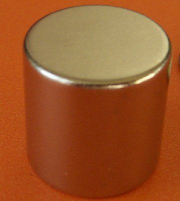 "Applied Magnets® 1 Piece 2"" X 2"" Neodymium Super Magnet Disc. NdFeB N45 Neodymium Magnets, stronger than N42, N40, N38 and N35. The buyer must agree with the terms before purchase. Children should not be allowed to handle Neodymium magnets as they can be dangerous. Super Strong Top Quality Rare Earth Neodymium Magnets. 2"" diameter x 2"" thick, magnetized through thickness, poles on the flat surfaces. Neodymium magnets are very, very strong. Pull force we provided is estimate only."