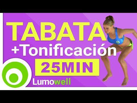 Tabata Cardio HIIT Training + Ejercicios de Tonificación - Adelgazar y Tonificar Rápido - YouTube