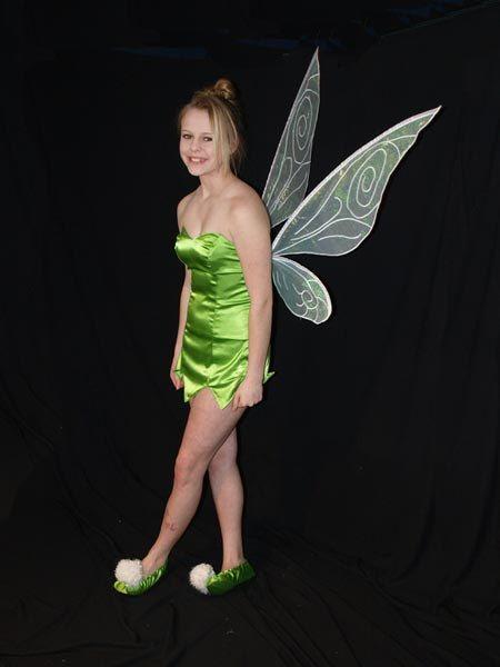 PATRÓN y tutorial de alas de hadas traje de TinkerBell adulto