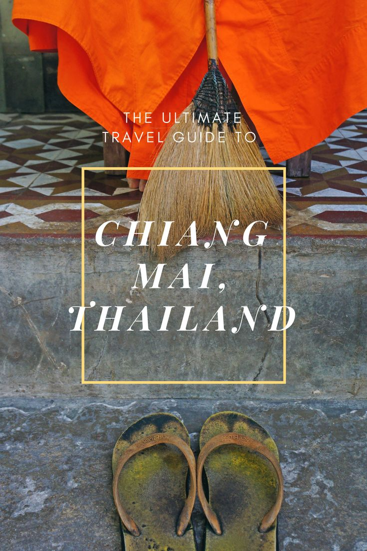 The food is amazing, the markets big and colourful and the surrounding boasts with incredible nature. Come to the northern Thai city of Chiang Mai for a few days, immerse yourself in the city, food and speak to locals and just fall in love with this place! #ChiangMai #TravelGuide #Thailand #NorthernThailand