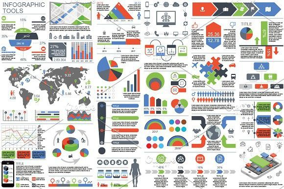 Infographic Elements. PowerPoint Templates