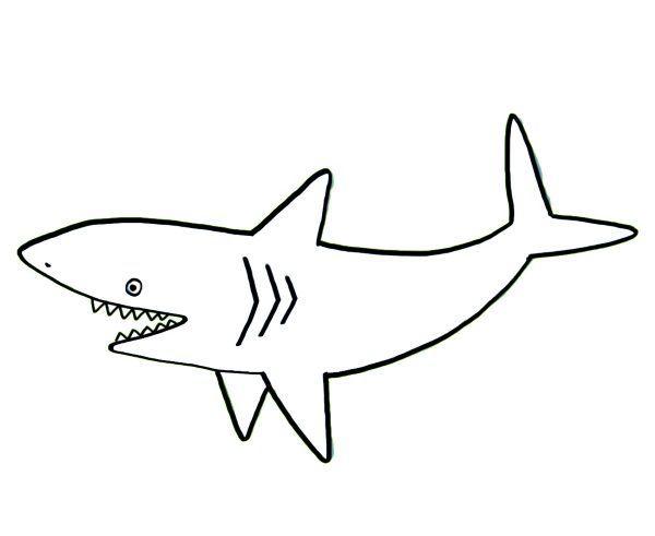 Resultado De Imagen Para Dibujos De Tiburones Infantiles Dibujo