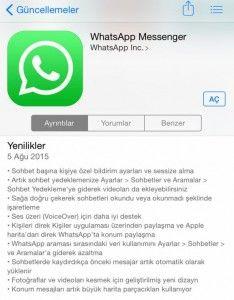 Anlık #sohbet uygulaması #Whatsapp'a yeni bir #güncelleme geldi. Güncelleme ile birlikte #popüler uygulamaya pek çok yeni özellik dahil edildi. Bakın neler? Yazının devamı: http://ift.tt/1eUBxHB