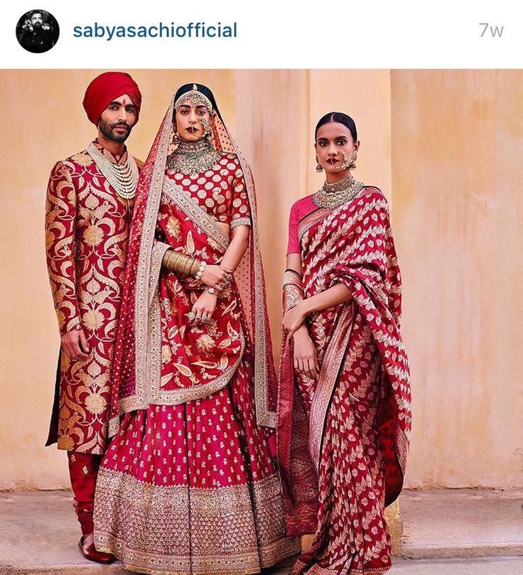 Lehengas. Benarsi Lehengas. A perfect fusion for Bengali brides wanting to go away from the traditional draping.