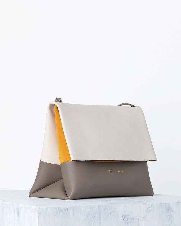 CÉLINE   Spring 2014 Leather goods and Handbags collection - tan suede tassel bag, bags online shop, small black clutch bag *ad