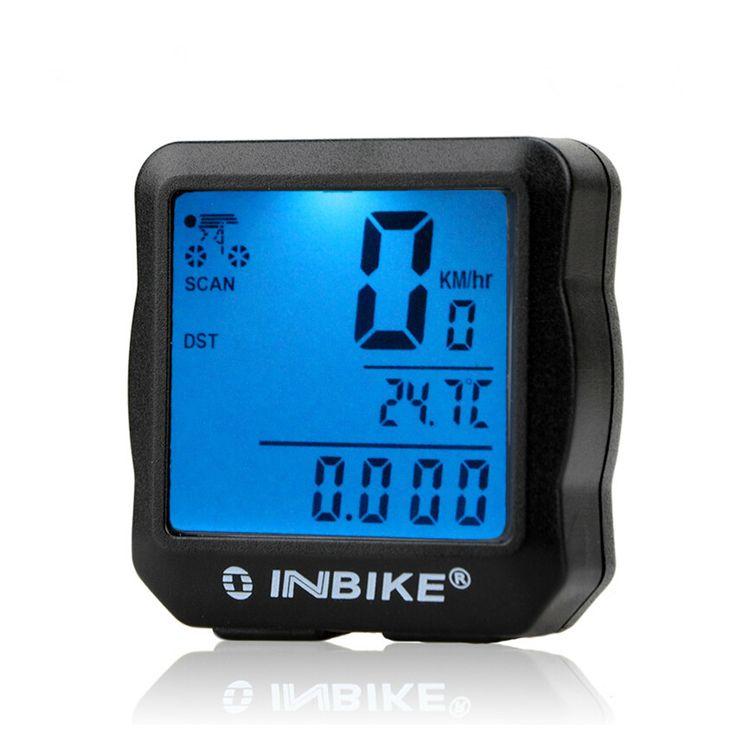 Caliente impermeable luz de fondo Digital de bicicletas ordenador cuentakilómetros velocímetro reloj cronómetro bicicleta accesorios para bicicletas ordenador