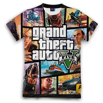GTA V* T Shirt Fullprint