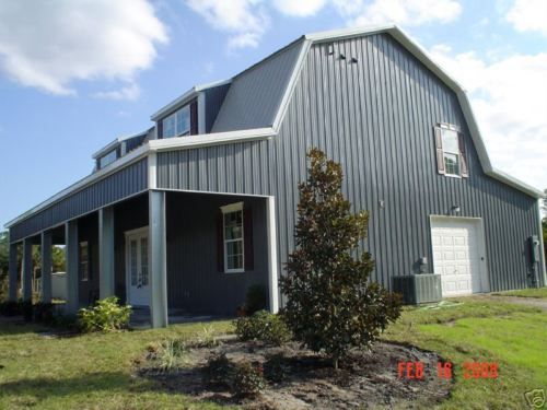 1000 ideas about metal home kits on pinterest metal for Gambrel metal homes