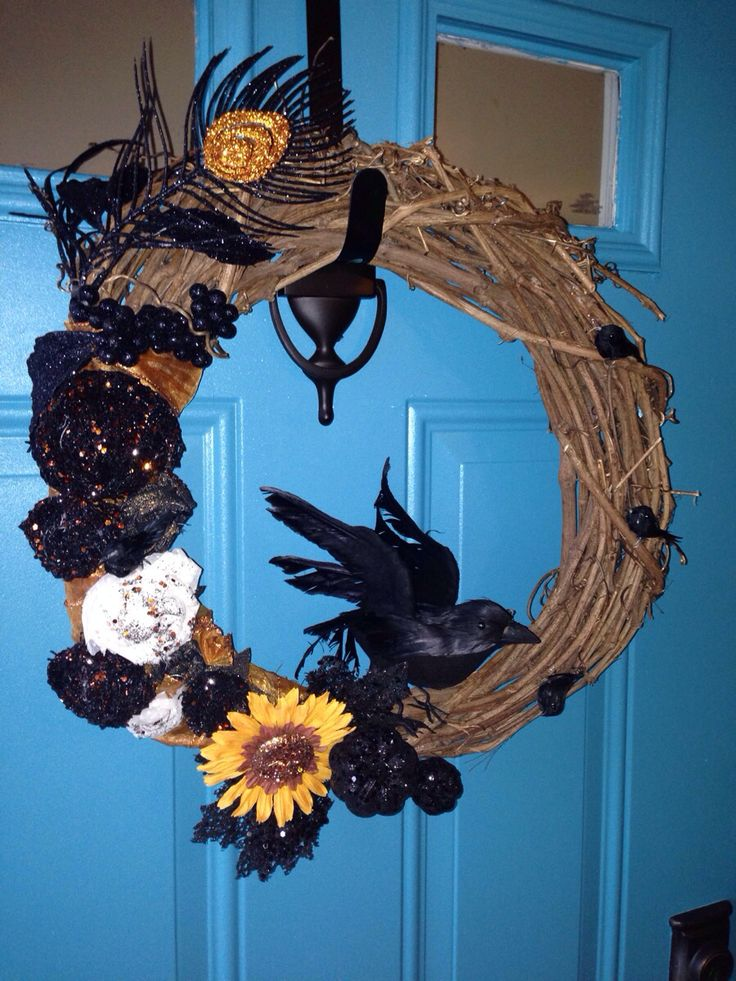 Halloween DIY wreath
