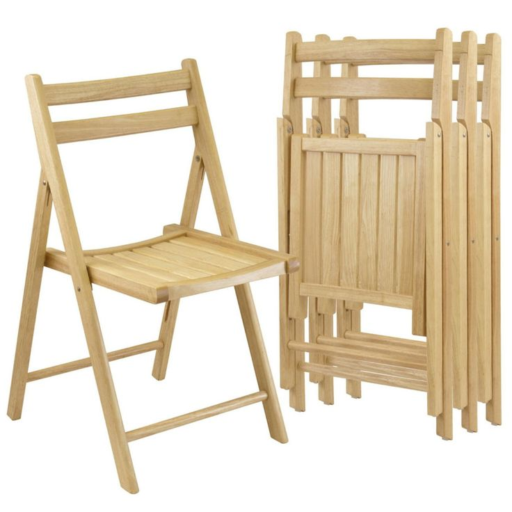 Wooden Folding Chairs
