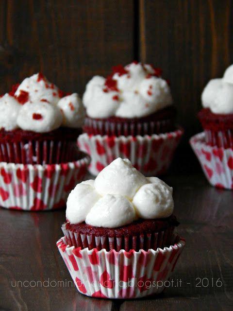 Un condominio in cucina: Red velvet cupcakes