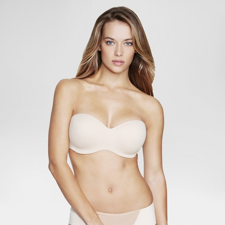 Dominique Strapless Bridal Bra #3541 - Nude 38DD, Women's