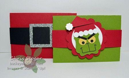 Gift Card Envelope Thinlit - Buckeye InklingsBuckeye Inklings