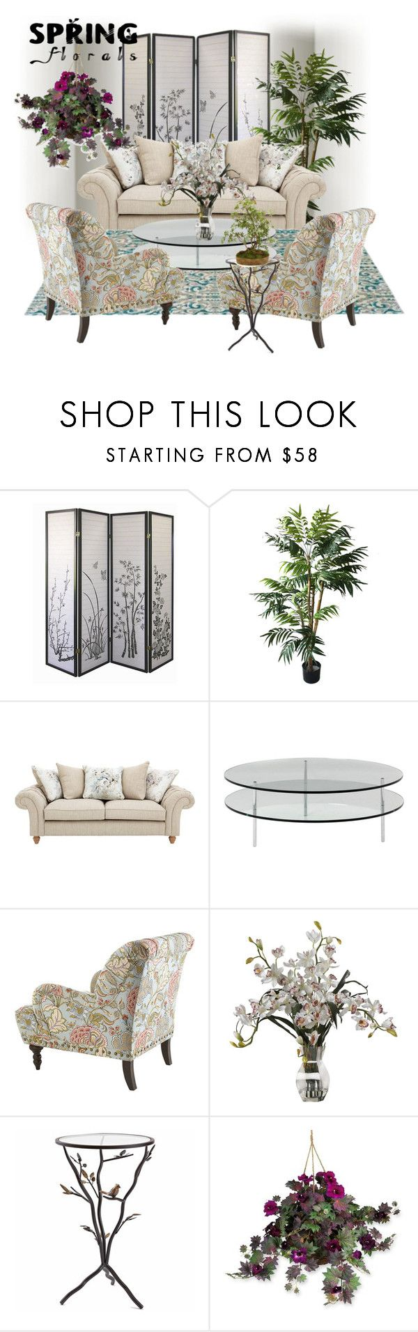 """sitting room"" by daincyng ❤ liked on Polyvore featuring interior, interiors, interior design, home, home decor, interior decorating, International, TradeMark, SCP and Pier 1 Imports"