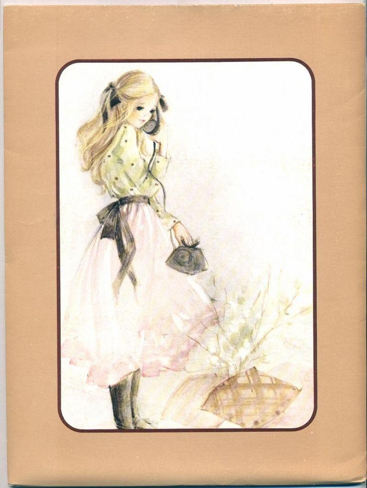 arco-Iris Loreta - papel de carta com vc - Julia - Lote com 12 capinhas da coleção Julia