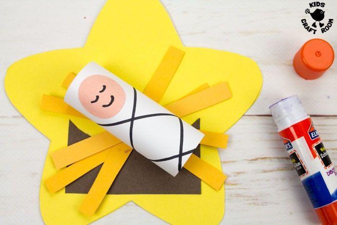 Baby Jesus Christmas Cards Jesus Christmas Crafts Baby Jesus Craft Preschool Christmas Crafts