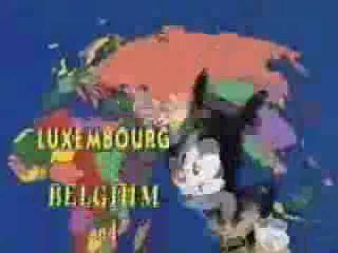 ▶ Animaniacs - Nations Of The World - YouTube
