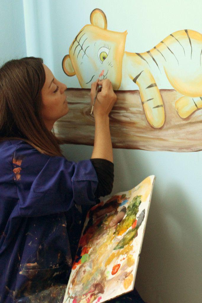 17 best images about murales infantiles de la que pinta - Murales infantiles pintados a mano ...