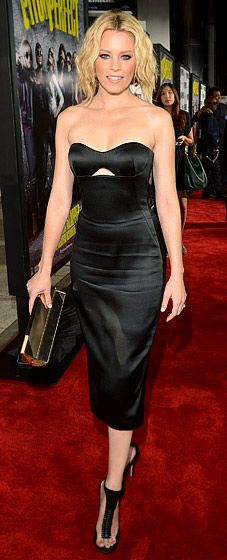 Elizabeth Banks in Alexander McQueen. This dress is awesome