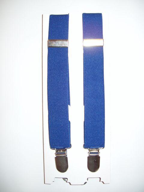 Boys Royal Blue Suspenders