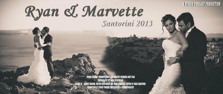 Why Santorini -- Ryan & Marvette   SEE THIS STORY-VIDEO NOW http://www.photographergreece.com/en/cinematography-videography/weddings-cinematography-videography-greece-santorini/133-orthodox-wedding-in-santorini-rocabella-why-santorini.html