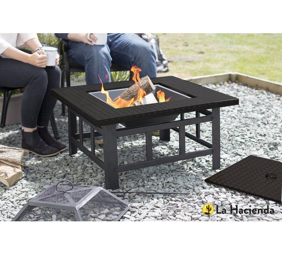 the 25 best fire pit table uk ideas on pinterest. Black Bedroom Furniture Sets. Home Design Ideas