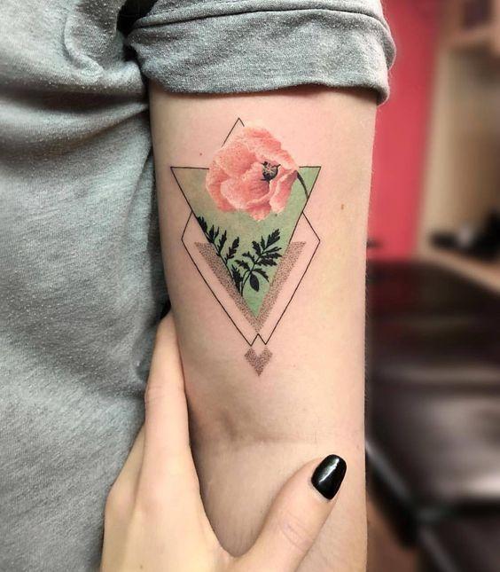 60 atemberaubende Aquarell Tattoo Ideen für Frauen   – Art