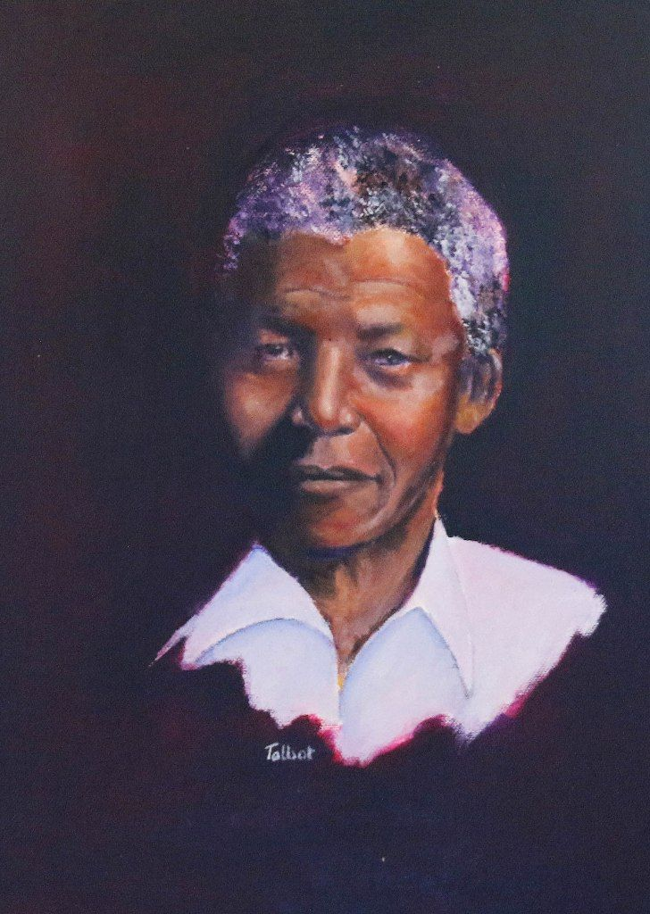 Madiba: Talbot Cox - Portrait and fine art artist