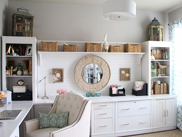 home office rooms. blogger before and after beachflavored office makeover home rooms e