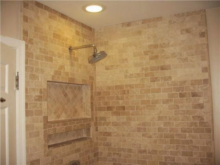 Best Travertine Bathroom Ideas On Pinterest Shower Benches