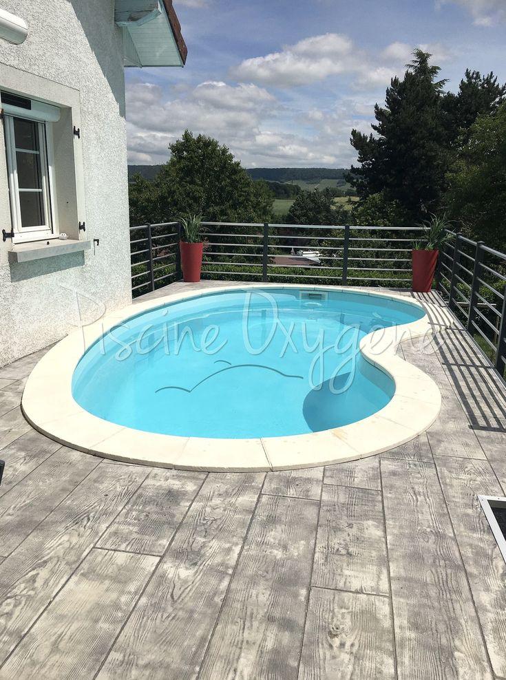 piscine alize piscines ibiza de forme libre style haricot avec plage de piscine en b ton. Black Bedroom Furniture Sets. Home Design Ideas