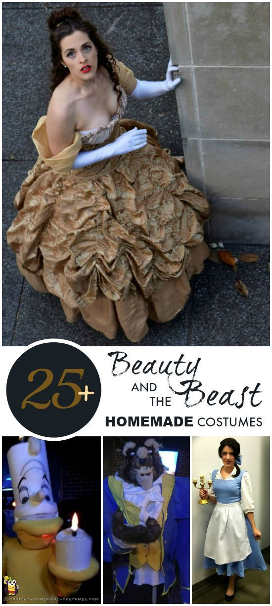 Homemade Costume Ideas for Beauty and the Beast - Coolest Halloween Costume Contest