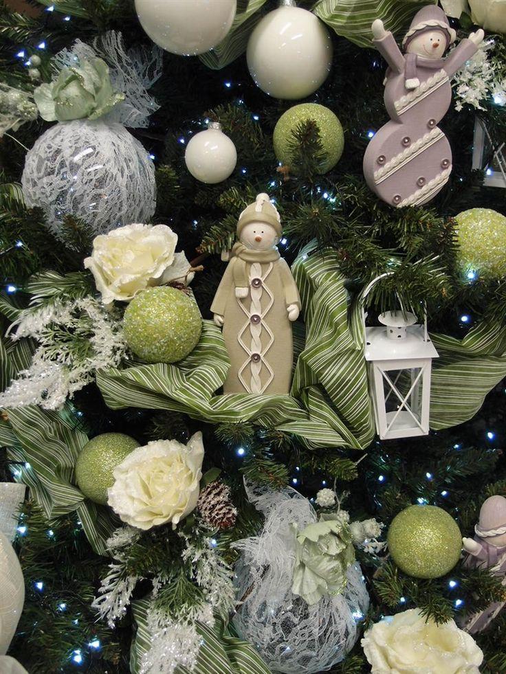 17 migliori idee su vetrine natalizie su pinterest - Idee x decorare l albero di natale ...