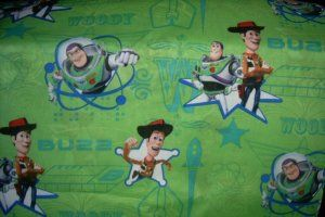 toy story crib sheets | MadieBs Toy Story Buzz Wood Crib/Toddler Bed Sheet Set