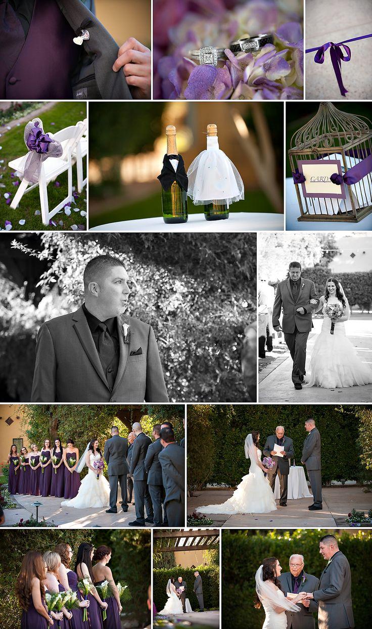 Wedding, Wigwam Resort, Purple