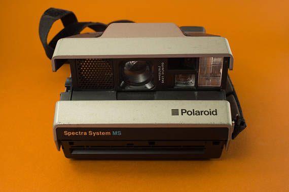 Polaroid Spectra System MS Instant Camera / Ca. 1986 Vintage